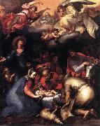 BLOEMAERT, Abraham Adoration of the Shepherds  ghgfh oil